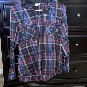 Sky and Sparrow flannel